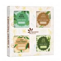 天然乳油木滋養皂禮盒(滋養皂4入)